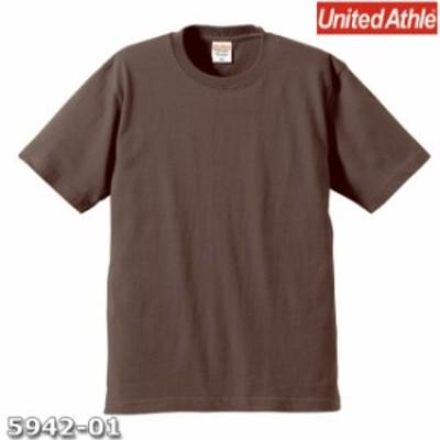 Tシャツ 半袖 メンズ プレミアム 6.2oz XL サイズ チャコール 無地 ユナイテッドアスレ CAB