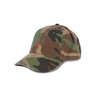Ralph Lauren Polo Men's Camouflage Camo Canvas Baseball Cap