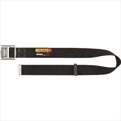 タジマ 胴ベルト スチールワンフィンガーバックル 黒 Sサイズ (BSS110-BK)