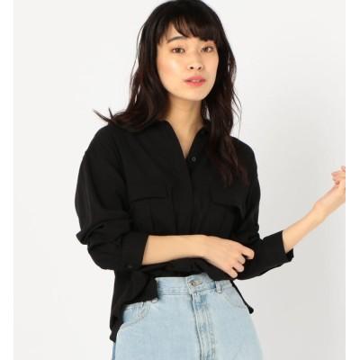 【シップス/SHIPS】 Prefer SHIPS:2ポケットシャツジャケット