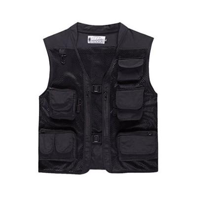 全国送料無料!Only Faith vest OUTERWEAR メンズ US サイズ: XX-Large カラー: ブラック
