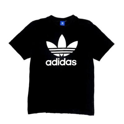 adidas アディダス フロントロゴTシャツ プリントTシャツ メンズM相当【SA2107】