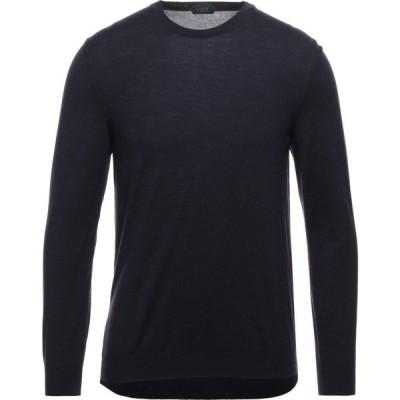ザノーネ ZANONE メンズ ニット・セーター トップス Sweater Dark purple