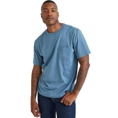 リッチャープアー シャツ メンズ トップス Short-Sleeve Pocket T-Shirt - Men's Blue Mirage