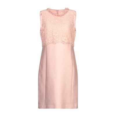 SEVENTY SERGIO TEGON ミニワンピース&ドレス ピンク 42 コットン 89% / シルク 11% ミニワンピース&ドレス
