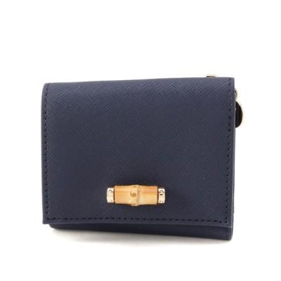 grove / バンブーモチーフ3つ折り財布 WOMEN 財布/小物 > 財布
