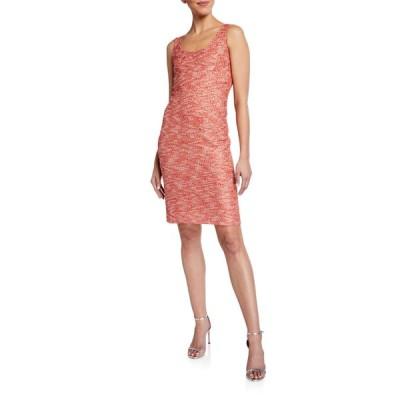 セント ジョン コレクション レディース ワンピース トップス Beaded Confetti Knit Cocktail Dress