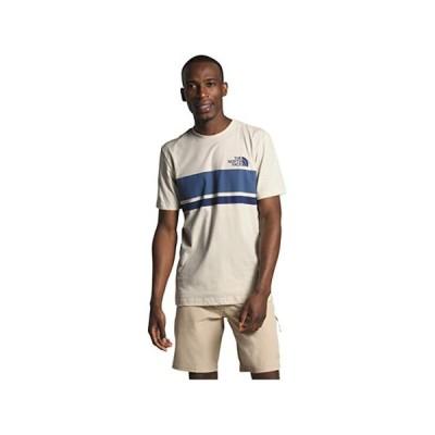 (取寄)ノースフェイス メンズ ホライゾン ラインズ ショート スリーブ ティー The North Face Men's Horizon Lines Short Sleeve Tee Vintage White