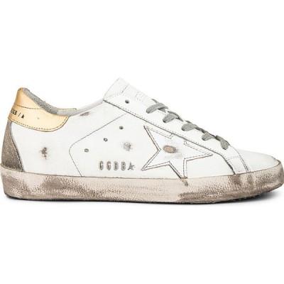 ゴールデン グース Golden Goose レディース スニーカー シューズ・靴 Superstar Sneaker White/Silver/Gold
