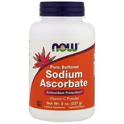 Sodium Ascorbate Powder, 8 oz (227 g)
