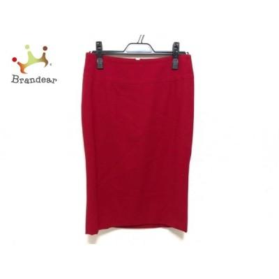 ドルチェアンドガッバーナ DOLCE&GABBANA スカート サイズ38 S レディース 美品 レッド 新着 20200630