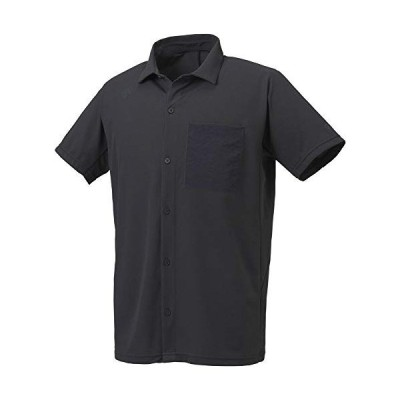 デサント サンスクリーン 襟付きシャツ 吸汗速乾 ストレッチ UVカット(UPF15) DMMPJA08Z メンズ BK O