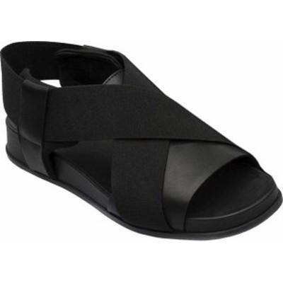 カンペール レディース サンダル シューズ Atonik Sandal Black Full Grain Leather/Technical Fabric