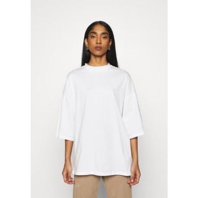 レディース ファッション OBJVERITA TEE - Basic T-shirt - cloud dancer