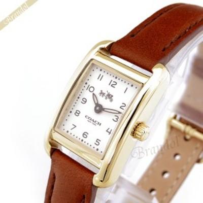 コーチ COACH レディース 腕時計 トンプソン スクエア ゴールド×ブラウン 14502297