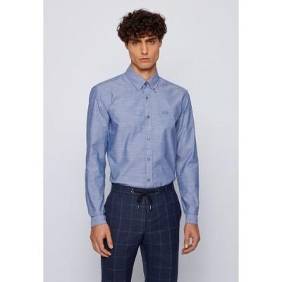 ボス シャツ メンズ トップス Formal shirt - open blue