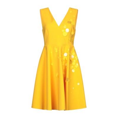 エムエスジーエム MSGM ミニワンピース&ドレス オークル 42 ポリエステル 96% / ポリウレタン 4% ミニワンピース&ドレス