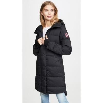カナダグース Canada Goose レディース コート アウター Alliston Coat Black