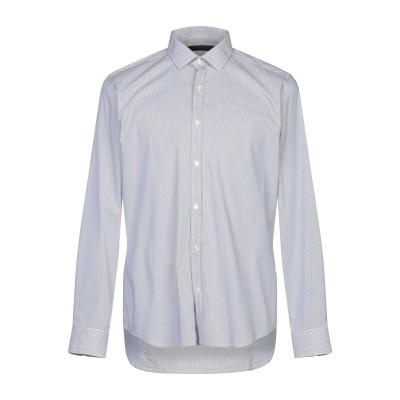 メッサジェリエ MESSAGERIE シャツ ダークブルー 41 コットン 72% / ナイロン 25% / ポリウレタン 3% シャツ
