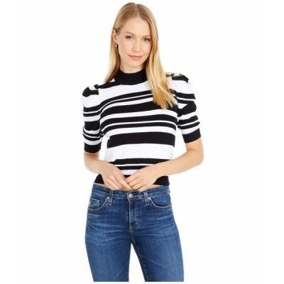 BCBジェネレーション ニット&セーター アウター レディース Short Sleeve Sweater Pullover - TUO5297615 Black