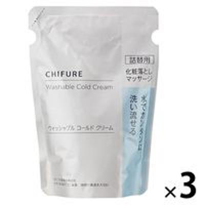 ちふれ化粧品ちふれ化粧品 ウォッシャブルコールドクリームN 詰替用 300g 3個