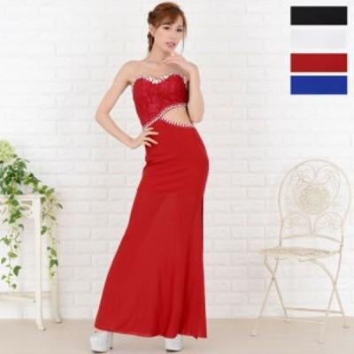 ロングドレス キャバ パーティードレス キャバドレス セクシーロングドレス キャバ ドレス 送料無料 ウエストカットロングドレス