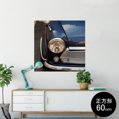 ポスター ウォールステッカー シール式ステッカー 飾り 60×60cm Msize 壁 おしゃれ 剥がせる sticker poster 車 写真 006223