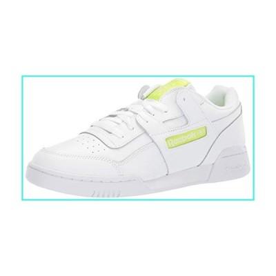 【新品】Reebok Men's Workout Plus Shoes, white/neon lime, 7.5 M US(並行輸入品)