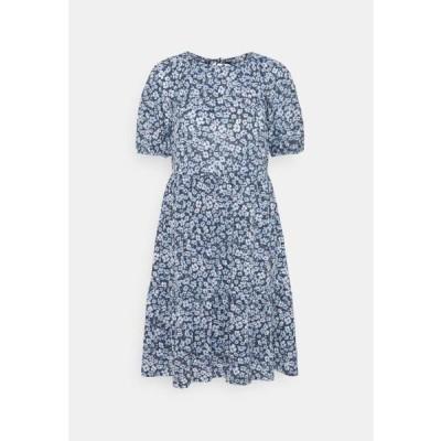 オンリー レディース ファッション ONLPELLA OPEN BACK DRESS - Day dress - vintage indigo