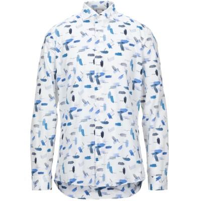 UNGARO シャツ ホワイト 42 コットン 100% シャツ