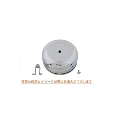 【取寄せ】Smooth Center Screw Air Cleaner  V-TWIN 品番 34-1025  (参考品番: )  Vツイン アメリカ USA