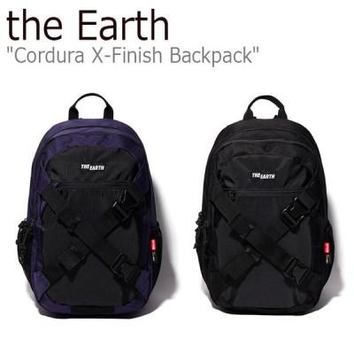 ジアース リュック the Earth メンズ レディース CORDURA X-FINISH BACKPACK コーデュラ X-フィニッシュ バックパック ブラック パープル P00000XX/Y バッグ