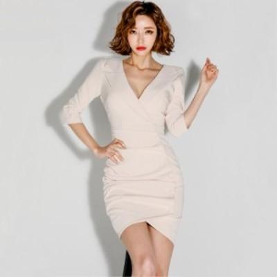ミニタイトワンピース レディース ヒップアップ 通勤 オフィス 仕事 お呼ばれ パーティードレス 着痩せ 韓国ファッション セクシー フェ