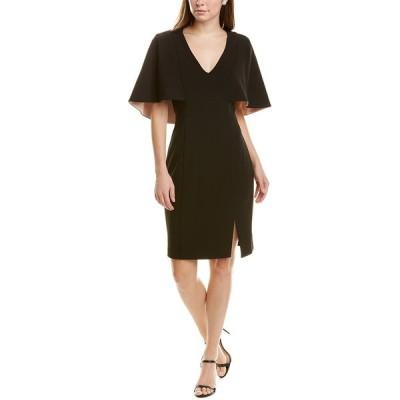 バッジェリーミシュカ ワンピース トップス レディース Belle by Badgley Mischka Nev Sheath Dress black/pink