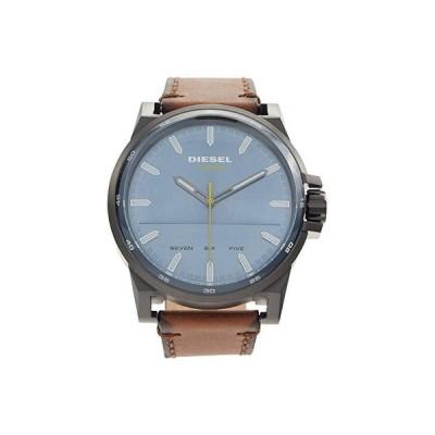 ディーゼル D-48 Three Hand Leather Watch - DZ1946 メンズ 腕時計 時計 ファッションウォッチ Brown