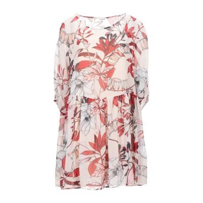 LE COEUR TWINSET ミニワンピース&ドレス ベージュ S ポリエステル 100% ミニワンピース&ドレス
