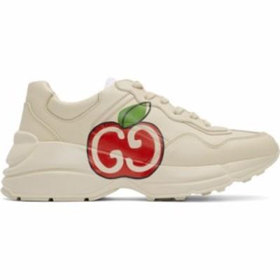 グッチ Gucci レディース スニーカー シューズ・靴 Off-White GG Apple Rhyton Sneakers Ivory