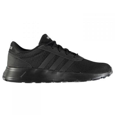 アディダス adidas メンズ スニーカー シューズ・靴 Lite Racer Trainers Triple Black