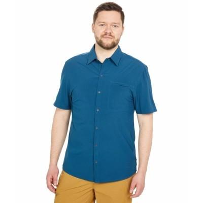 コートパクシー シャツ トップス メンズ Cambio Button-Up Indigo