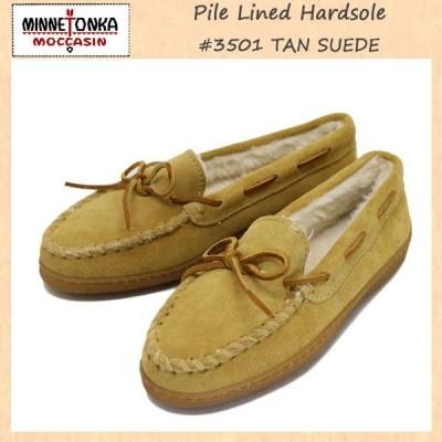 sale セール MINNETONKA(ミネトンカ) Pile Lined Hardsole(パイルボア付きハードソール) #3501 TAN レディース MT248