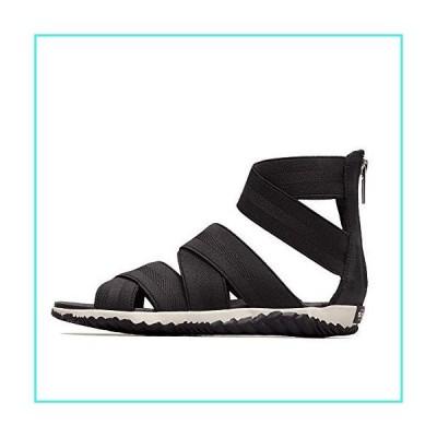 【新品】Sorel Out 'N About Plus Strap Sandal - Women's Black, 9.0(並行輸入品)