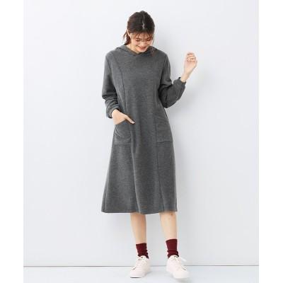 大きいサイズ ふんわりやわらかパイルワンピース ,スマイルランド, ワンピース, plus size dress