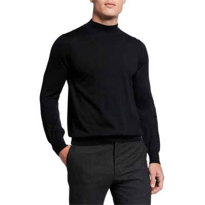 ブリオーニ メンズ ニット・セーター アウター Men's Mock-Neck Wool Sweater