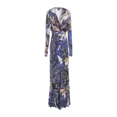 ジャストカヴァリ JUST CAVALLI ロングワンピース&ドレス パープル 38 レーヨン 100% ロングワンピース&ドレス
