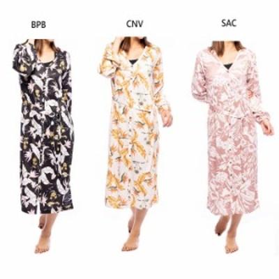 ビラボン レディース フラワー ザ サン ワンピースドレス FOLLOW THE SUN ONE PIECE DRESS UVワンピース カジュアルウェア トップス 長袖