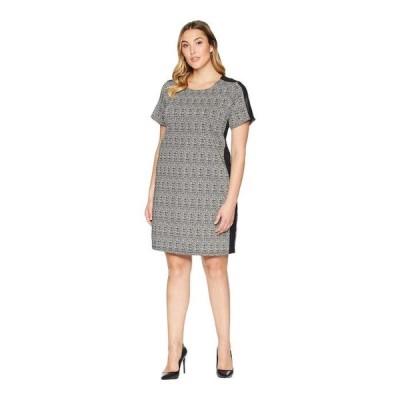 x レディース ワンピース トップス Plus Size Euro Knit Dress