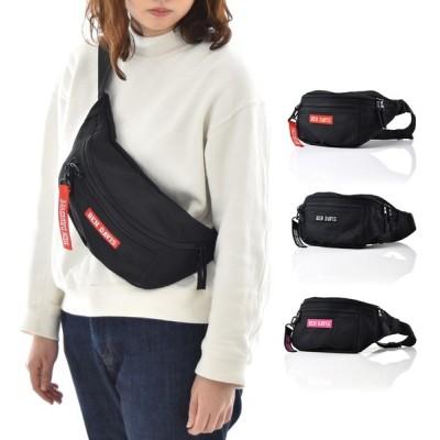 ベンデイビス バッグ BEN DAVIS ロゴテープ ウエストバック メンズ レディース ボディーバッグ ブランド 黒 赤 ピンク LOGO TAPE WAIST BAG L BDW-9274