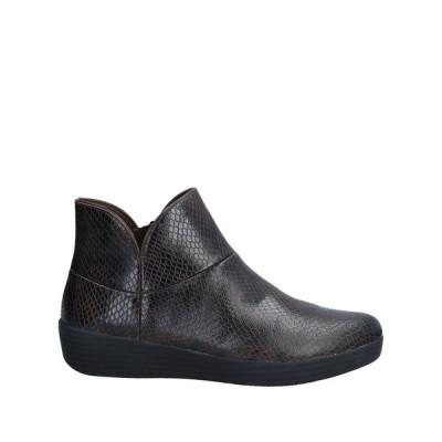 FITFLOP ショートブーツ ファッション  レディースファッション  レディースシューズ  ブーツ  その他ブーツ ダークブラウン