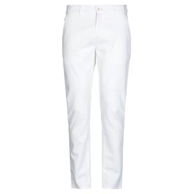 HARMONT&BLAINE パンツ ホワイト 48 コットン 98% / ポリウレタン 2% パンツ
