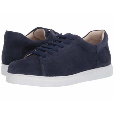 カナーリ スニーカー シューズ メンズ Tennis Sneaker Blue Suede